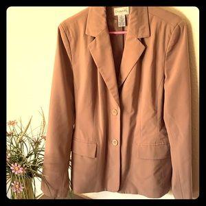 Chadwick's tan business jacket, size 12
